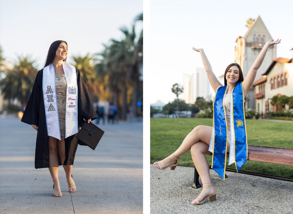 SJSU Grad photos, SJSU senior photos