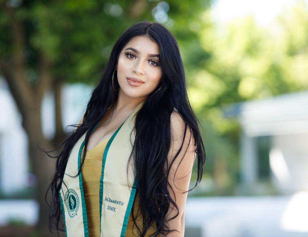 Giselle Graduation Photos from Sac State