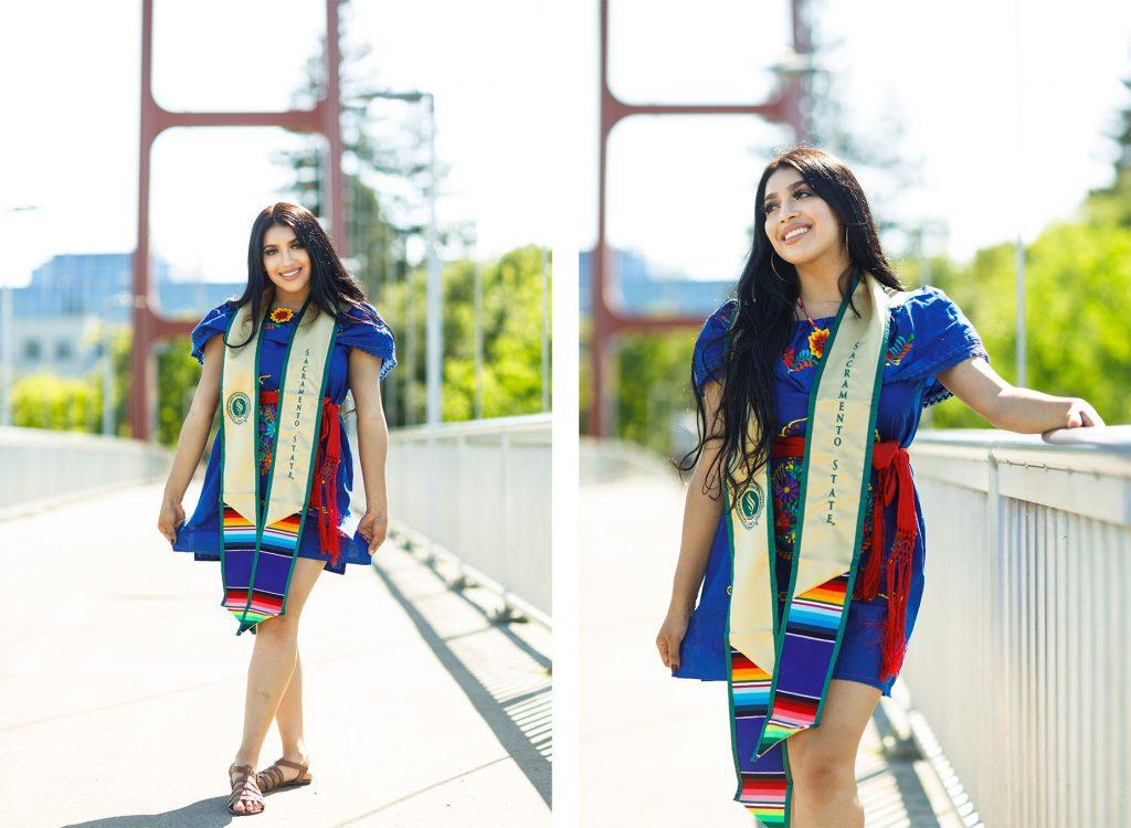 Latina Sac State Grad