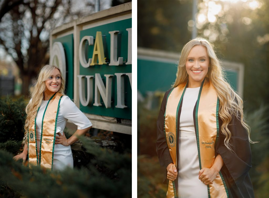 Grad Photos at Sac State